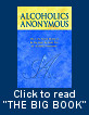 Alcoholics Anonymous - The Big Book